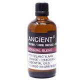 Sensual Essential Oils Blend Massage & Bath Oil 100ml