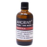 Spicy Rub Essential Oils Blend Massage & Bath Oil 100ml