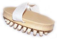 Hand Held Wooden Nodule Cellulite Massager