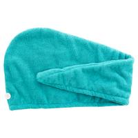 Danielle Argan Oil Infused Cyan Turban Hair Towel