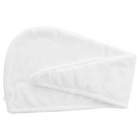 Danielle Coconut Oil Infused White Turban Hair Towel