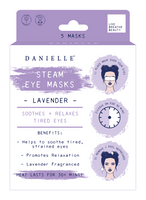 Danielle Lavender Infused Soothing Steam Eye Masks: Pack of 5