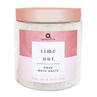 Time Out & Drift Away Relaxing Rose Scented Bath Salts 680g