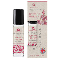 Stress Relief 100% Essential Oil Pulse Point Rollerball 10ml