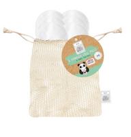 Eco Panda Reusable Bamboo Makeup Remover Pads x 8