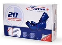 Cleo Active Leg Massager Machine Size S-M Velcro Fasten