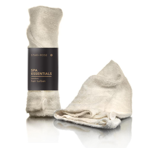 Natural Bamboo Fibre Towel Cloth Hair Drying Turban