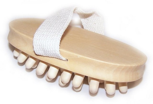 Hand Held Wooden Nodule Cellulite Massager