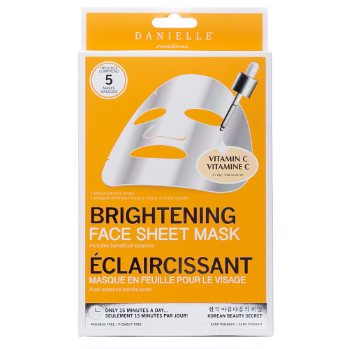 Danielle Creations Vitamin C Brightening Sheet Masks