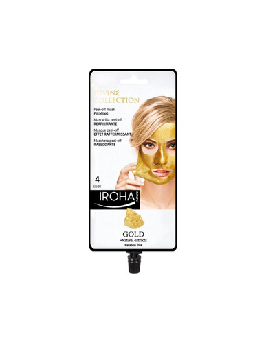 Iroha Nature Firming Peel-Off Mask With Gold