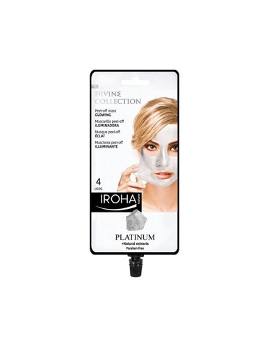 Iroha Nature Glowing Peel-Off Mask With Platinum