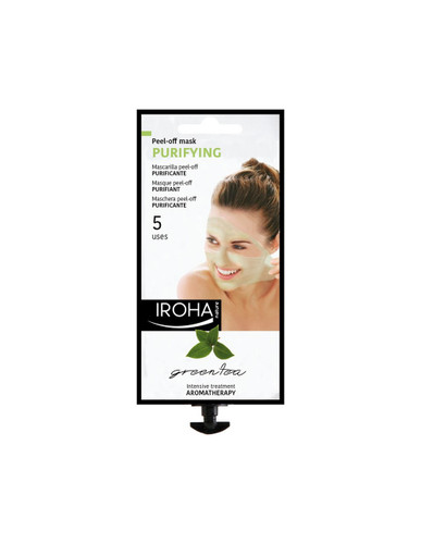 Iroha Nature Purifying Green Tea Peel-Off Mask 25g
