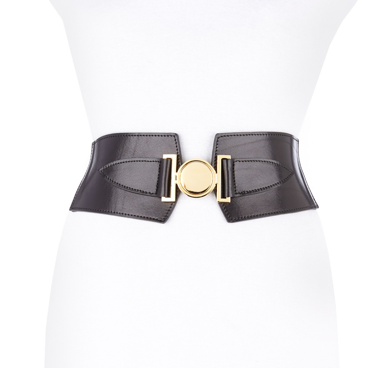 420273dd77 VIVIANA LEATHER WAIST CINCHER BELT - BRAVE Leather