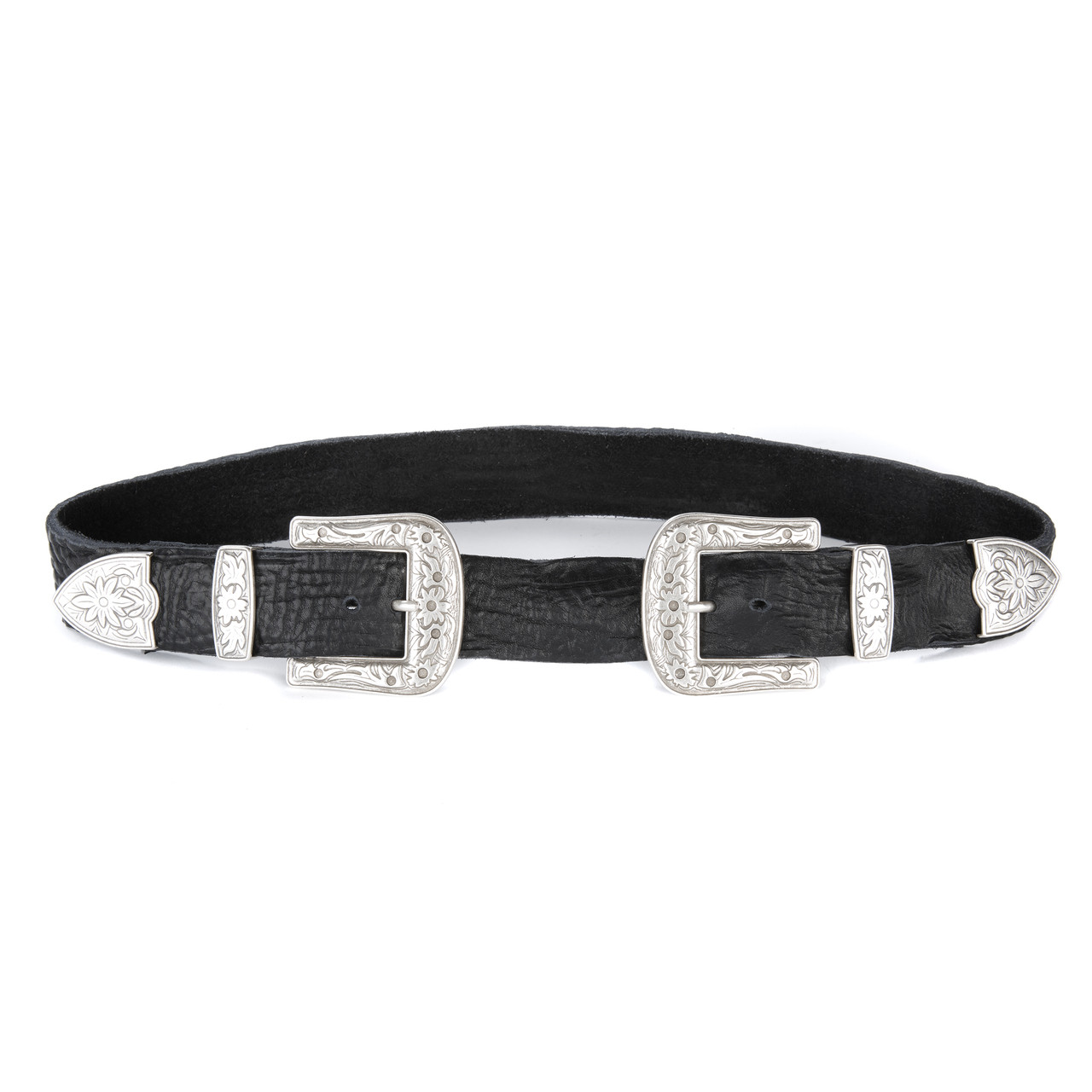 40141b29f Frankie Double Buckle Leather Belt | BRAVE Leather
