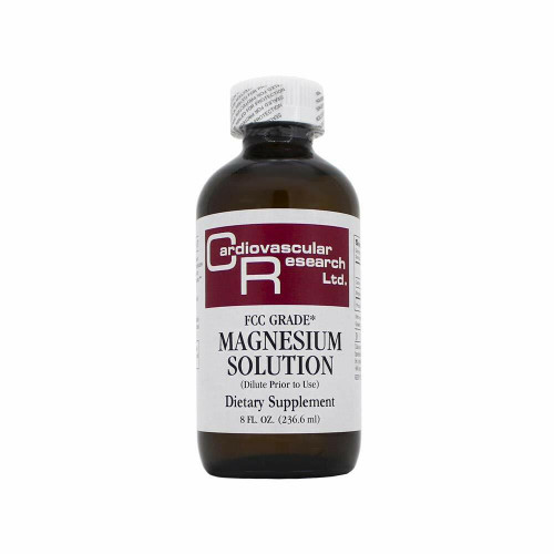 Magnesium solution contains inorganic and organic salts of magnesium in distilled water.It is an essential mineral that supports the structure and function of the human body.* Magnesium Solution is a dietary supplement in liquid form.  It supports the gastrointestinal tract, energy metabolism and protein synthesis.*