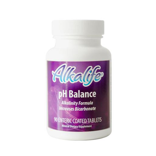Alka Life Tabs is a time released, pH balance product containing both potassium bicarbonate and sodium bicarbonate. This enteric coated tablet dissolves slowly for maximum absorption.  Taking pH balance tablets can help to increase energy and hydration while assisting detoxification and immune function.* Nutrients can then be absorbed more effectively improving overall health and well being.*
