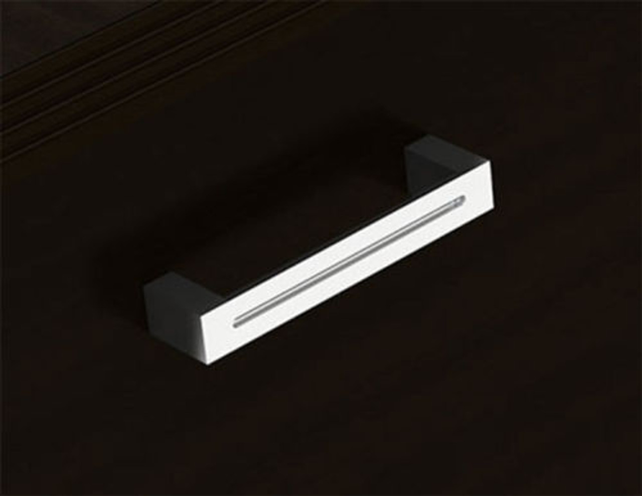 12pc 12' Feet U Shaped Glass Counter Reception Desk Set, #CH-AMB-R25