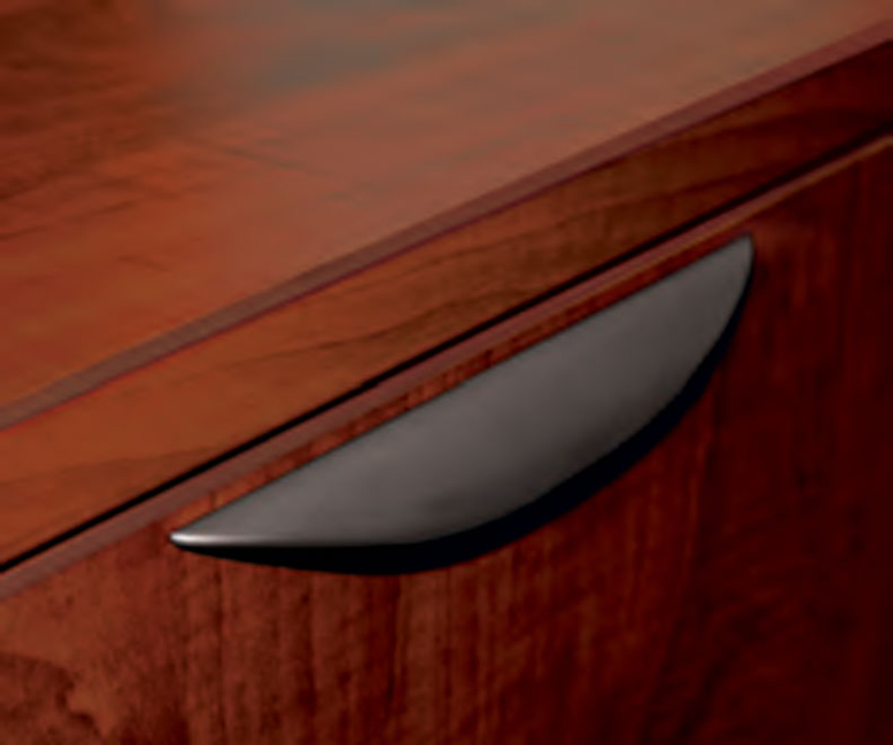 Three Person Orange Divider Office Workstation Desk Set, #OT-SUL-SPO25