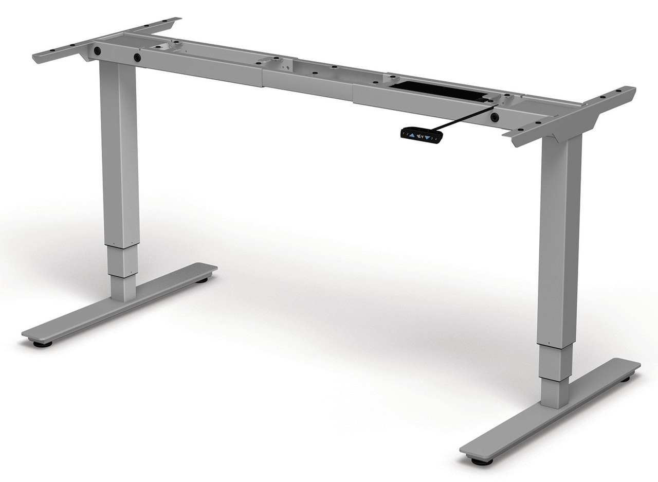 Four Persons Modern Power Adjustable Divider Workstation, #OF-CON-HP11