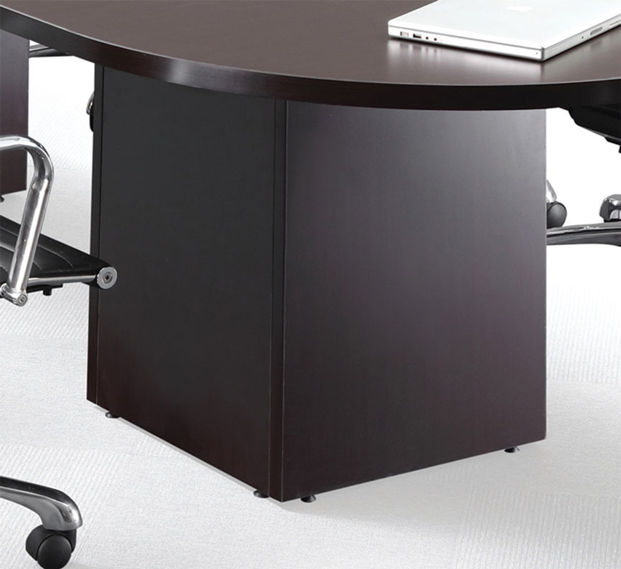 Boat Shape Counter Height 10' Feet Conference Table, #OF-CON-CT3