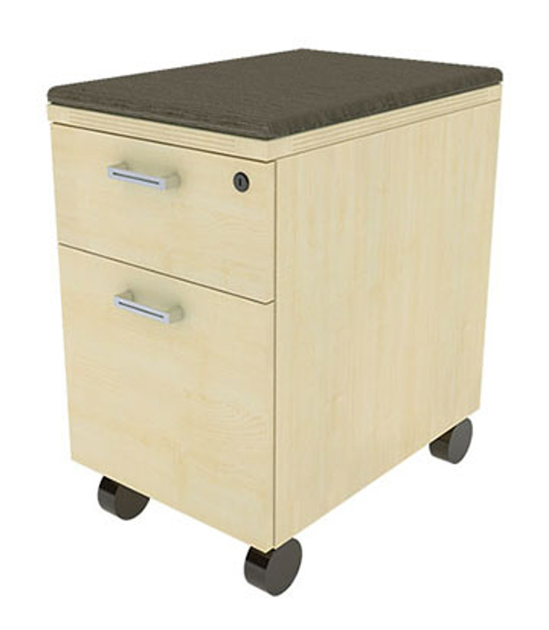 Mobile Box/File Cabinet on Casters, #CH-AMB-CAB5