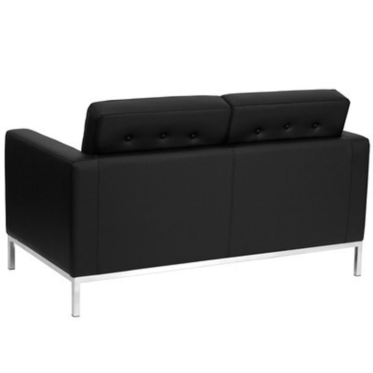 1pc Modern Leather Office Reception Loveseat, FF-0440-12