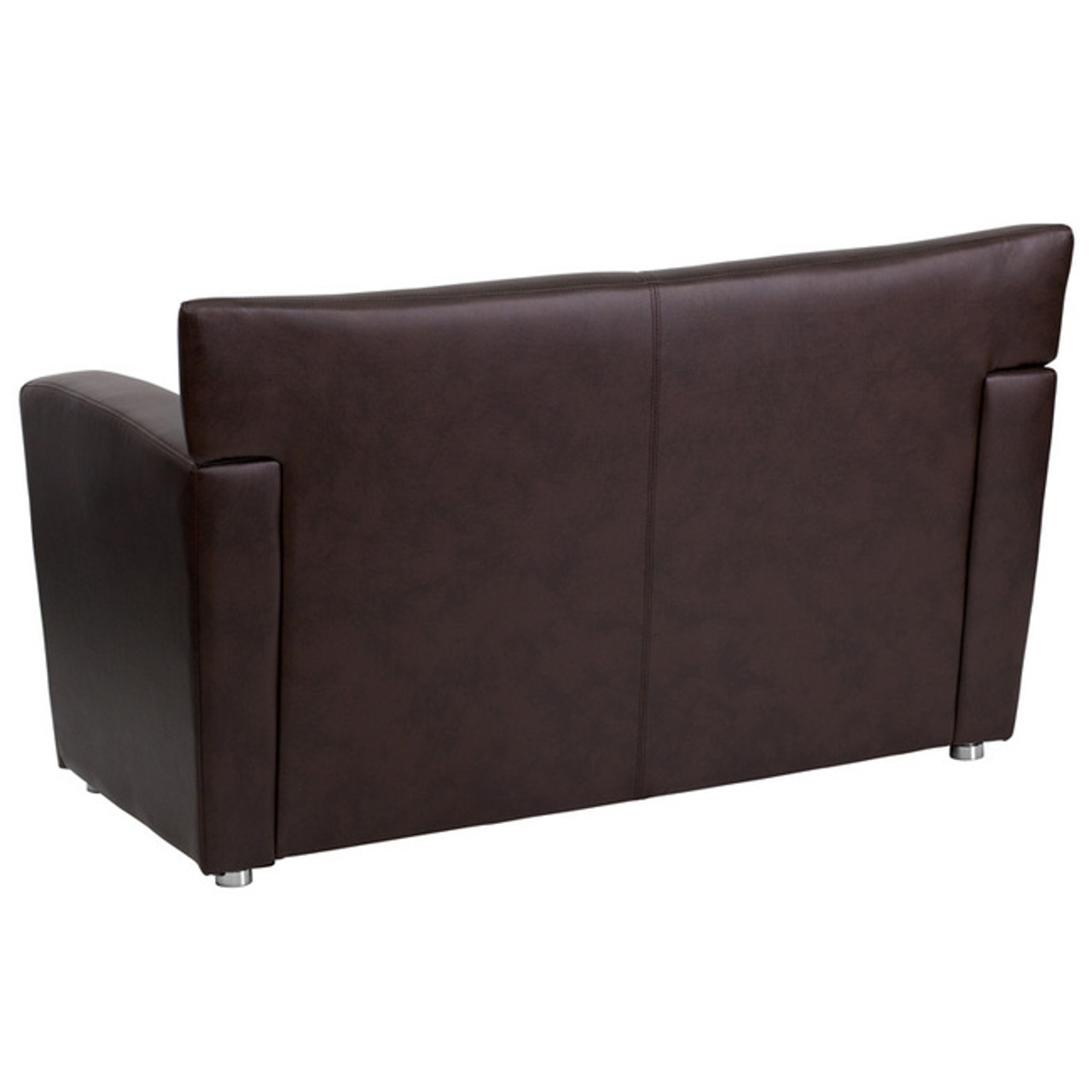 1pc Modern Leather Office Reception Loveseat, FF-0546-13