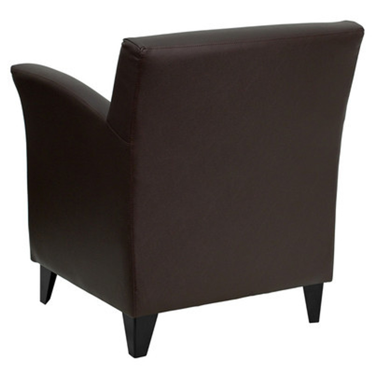1pc Modern Leather Office Home Reception Guest Chair, FF-0484-12