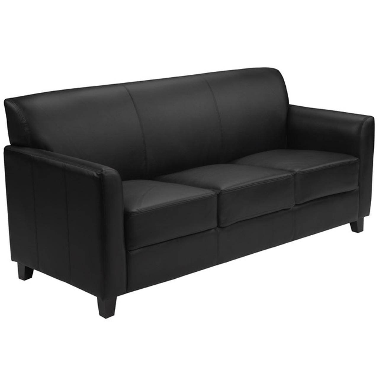 1pc Modern Leather Office Reception Sofa, FF-0552-13