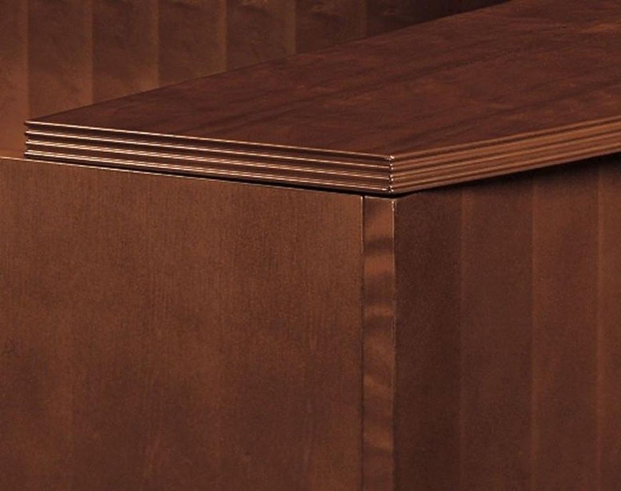3pc L Shape Modern Contemporary Executive Office Desk Set, #CH-JAD-L2