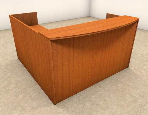3pc L Shaped Modern Office Reception Desk Set, #OT-SUL-R5