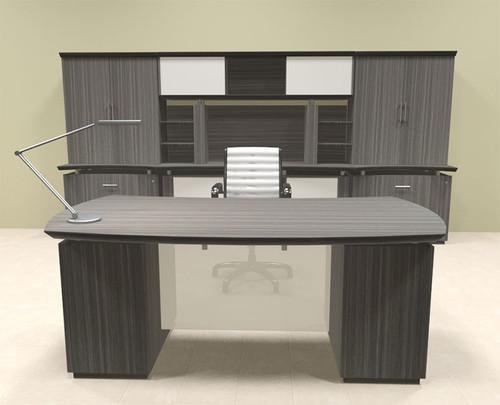 7pc Modern Contemporary Executive Office Desk Set, #MT-STE-D10