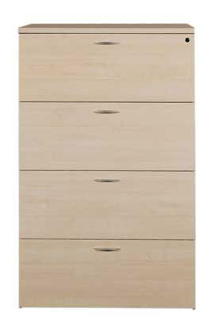 4 Drawers Lateral File Cabinet, #CH-AMB-CAB1
