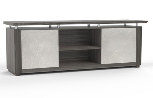 """84"""" Low Wall Cabinet with Acrylic Door, #MT-STE-CAB12"""
