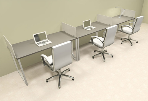 Office Desks 3 Person Office Workstation Page 1 H2o Furniture