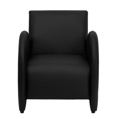 1pc Modern Leather Office Home Reception Guest Chair, FF-0485-12