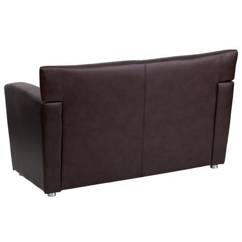 1pc Modern Leather Office Reception Loveseat, FF-0546-13