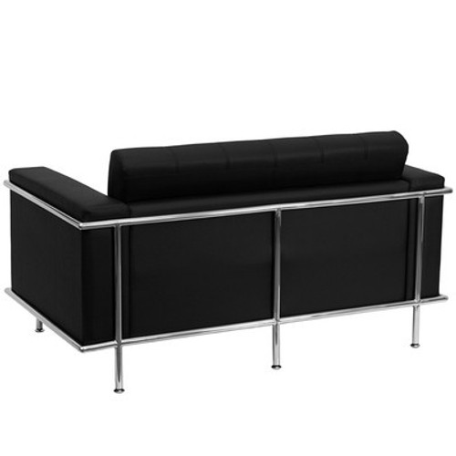 1pc Modern Leather Office Reception Loveseat, FF-0452-12