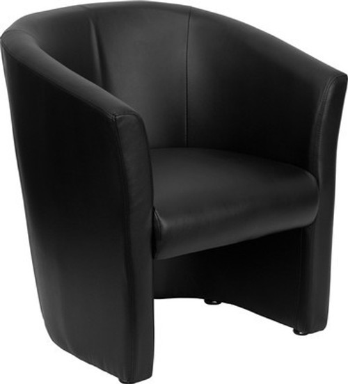 1pc Modern Leather Office Home Reception Guest Chair, FF-0493-12