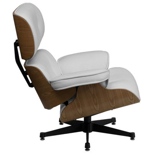 2pc Modern Leather Office Home Lounge Chair Set, FF-0477-12