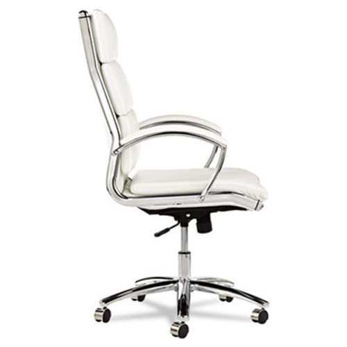 Hi Back Modern Leatherette Swivel/Tilt Office Chair, #AL-NR4106