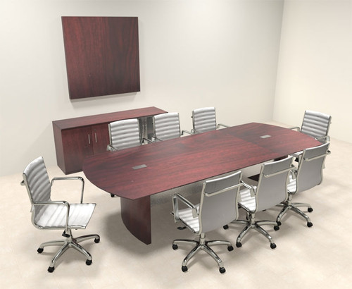 Modern Contemporary 10' Feet Conference Table, #MT-MED-C5