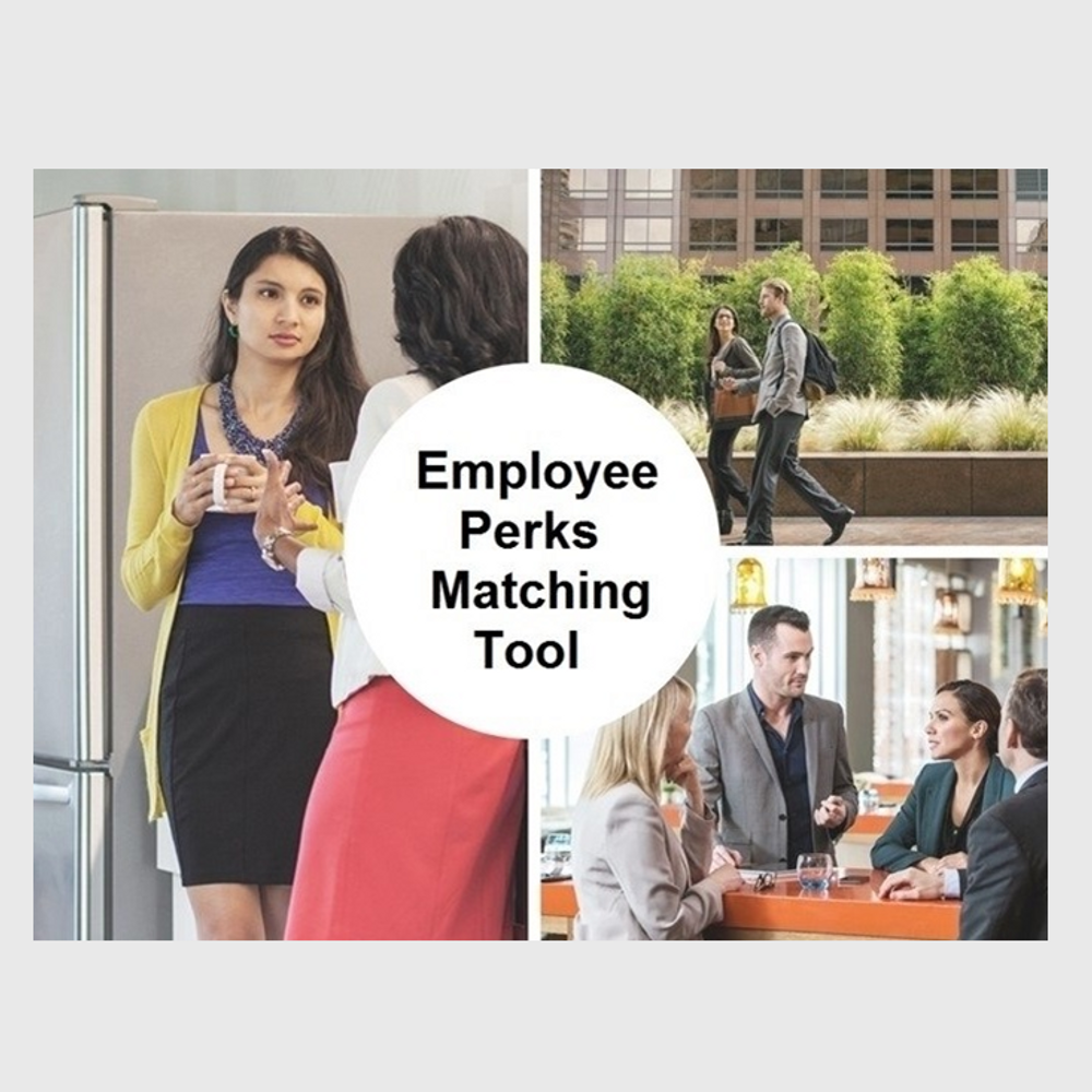 Primary thumbnail image for video Employee Perks Matching Tool http://videos.sproutvideo.com/embed/a49ad1b81f15eac22c/bc62fa4cce75a37d