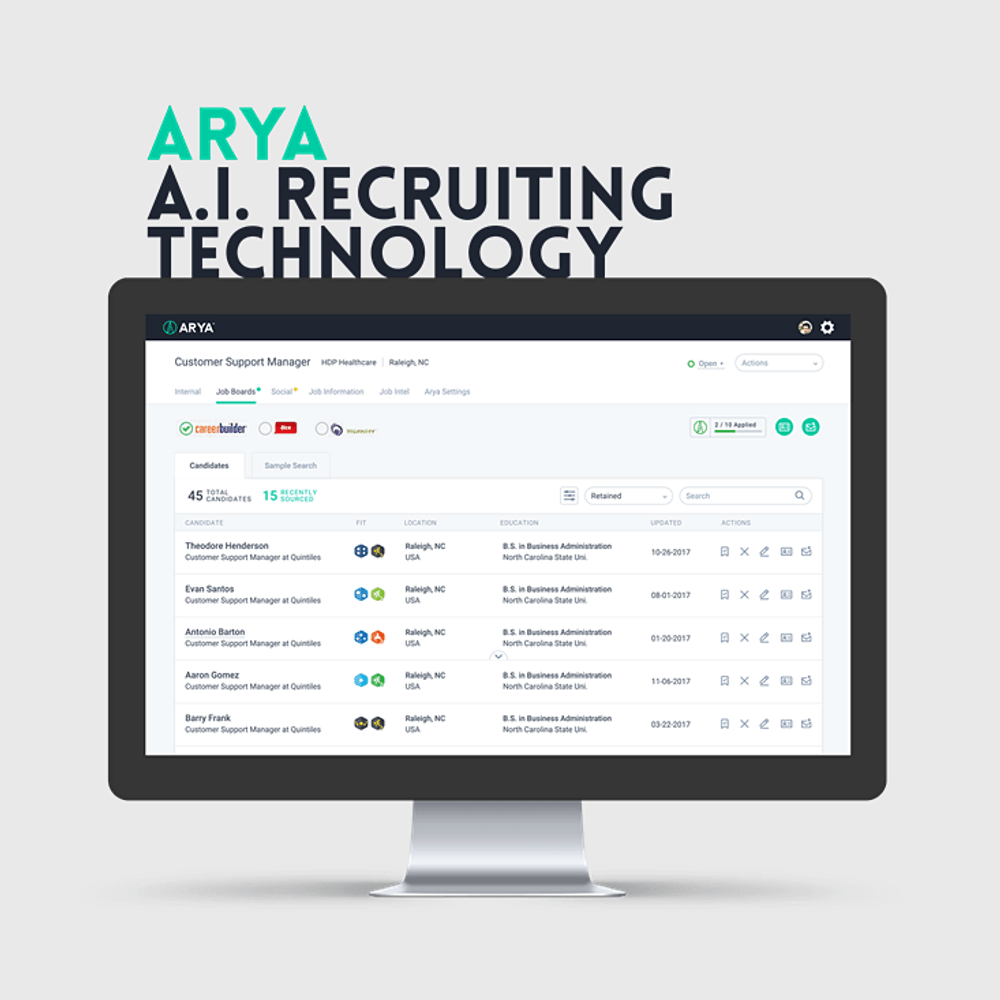 Primary thumbnail image for video Arya Recruiting  https://www.youtube.com/embed/0thozzKmJGI?rel=0