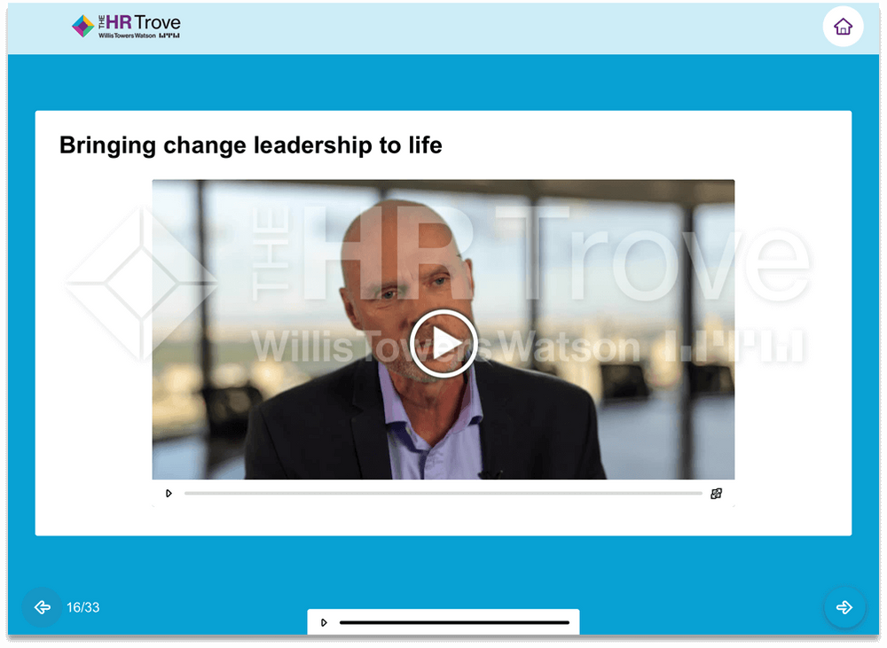 Thumbnail image for Change Leadership 101 Training Expert Video Example
