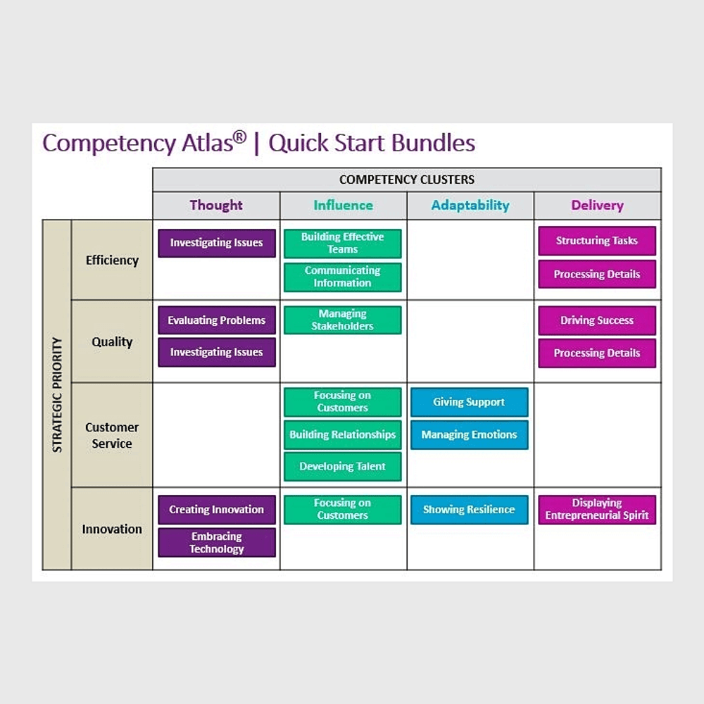 Thumbnail image for Competency Atlas Quick Start Bundle -- Efficiency 2