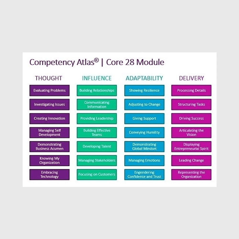 Primary thumbnail image for Competency Atlas® | Core 28 Essential