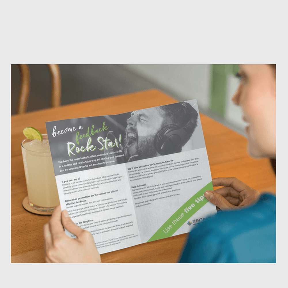 Primary thumbnail image for Become a Feedback Rock Star (Handout)