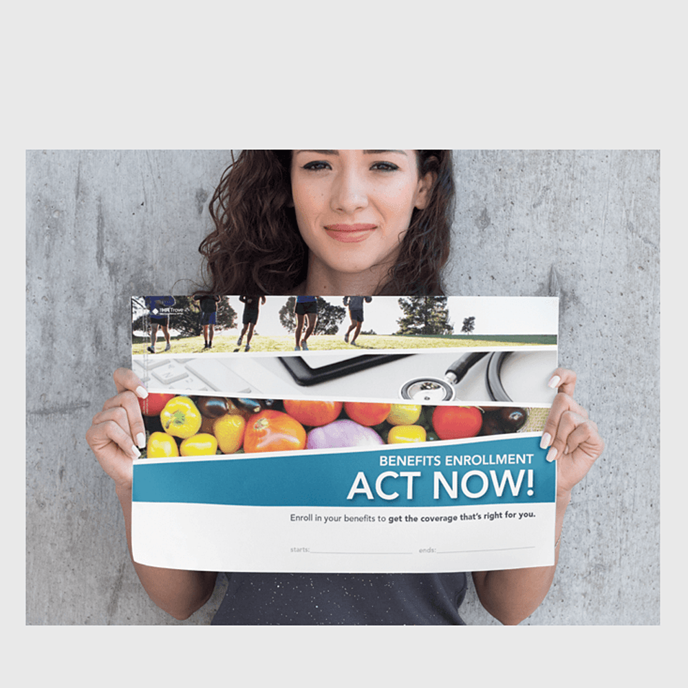 Primary thumbnail image for Benefits Enrollment Poster (Outdoor Vibrant Design)