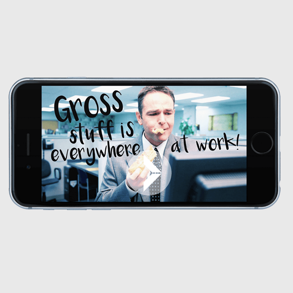 Primary thumbnail image for video Gross Stuff Is Everywhere at Workhttps://videos.sproutvideo.com/embed/489adeb11b16e9c7c0/0cdaf0122f8338b9